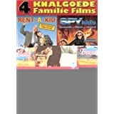 Family Films Collection - 4-DVD Box Set ( Rent-a-Kid / Treasure Island / Spy Kids / Tommy and the Wildcat (Poika ja ilves) )