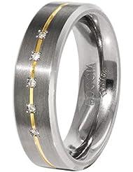 Boccia Damen-Ring Titan 5 Brillianten 0,025 0101-1948