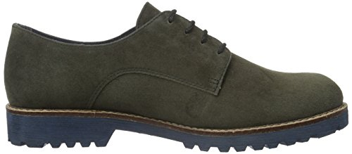 Tamaris 23204, Scarpe Stringate Basse Oxford Donna Grigio (ANTHRACITE 214)