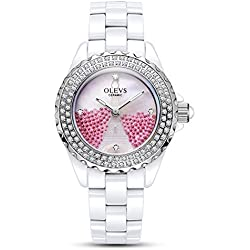 Lady ceramic/French romantic watches/Simple casual watches-A