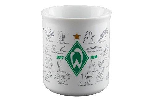 SV Werder Bremen Tasse Saison 2017/2018