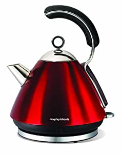 morphy richards red kitchen accessories morphy richards meno 43886 traditional kettle 9291