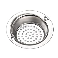 ypypiaol 2Pcs Stainless Steel Bathroom Household Kitchen Sink Drain Stoppers Strainers 1# Small