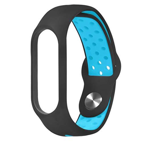 Y56 Armband Uhrenarmband Für Xiaomi Mi-Band 3 Neuer Leichter Ersatz lüften Sport-Weiches Handgelenk Bügel (Blau) -