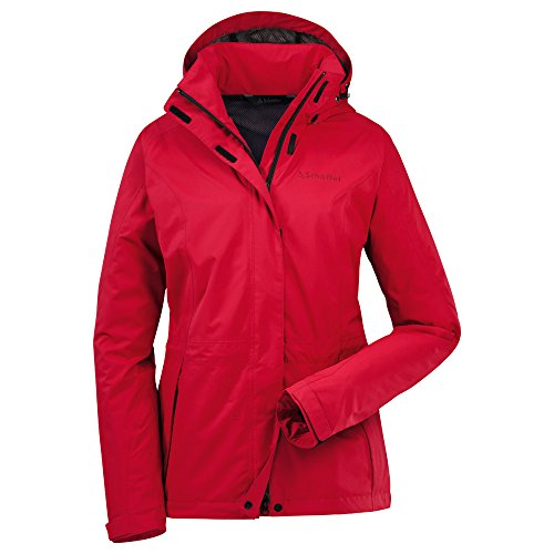Schöffel Damen Outdoorjacke Cascade tango red