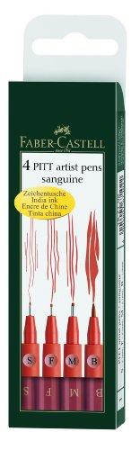 faber-castell-167102-feutre-pitt-artist-pen-sanguine-etui-de-4-s-f-m-b
