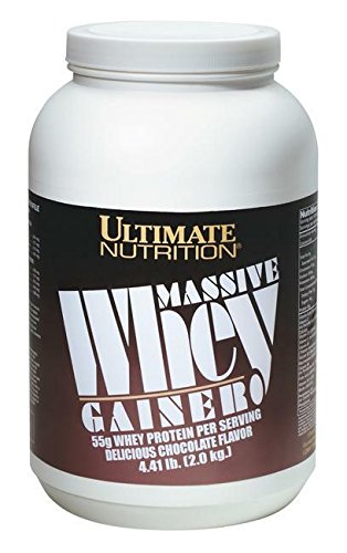Ultimate Nutrition Massive Whey Gainer (4.4lbs) Chocolate (Whey Gainer Massive)