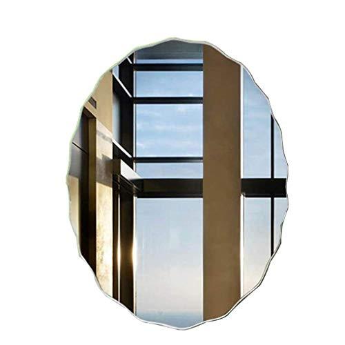 Pegatinas de pared con espejo ondulado