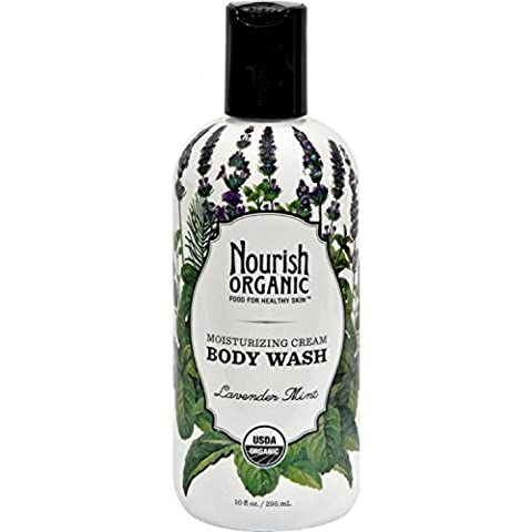 Nourish Organic Body Wash, Lavender Mint, 10 Ounce by Nourish