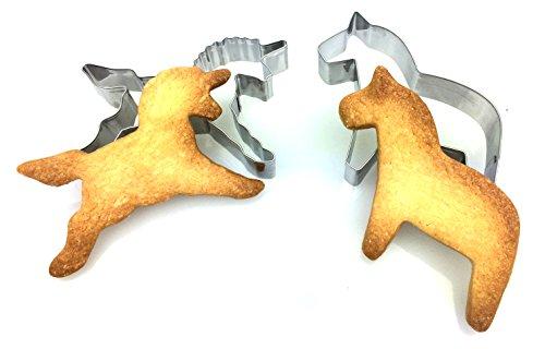 Einhorn Pferd Ausstecher Ausstechformen Fr Knete Und Kekse Keks Knete Knete Ausstechen Pltzchenform Einhorn Pferd By Blissany