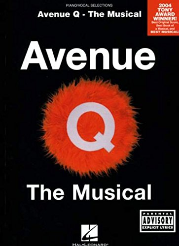 avenue-q-the-musical-piano-pvg-the-musical-piano-vocal-selections-pinao-vocal-selections