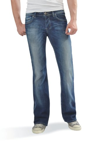 Ltb - Tinman - Jeans Homme sombre bleu usé (1064)