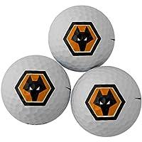 Wolverhampton Wanderers 3 Pack Golf - Bola de golf