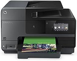 HP Officejet Pro 8620 (A7F65A) All-in-One Multifunktionsdrucker (A4, Drucker, Kopierer, Scanner, Fax, NFC, WiFi, Duplex, USB, 4800 x 1200) schwarz/grau