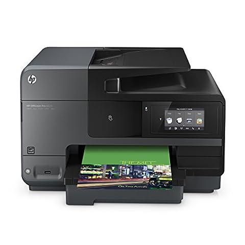 HP Officejet Pro 8620 (A7F65A) All-in-One Multifunktionsdrucker (A4, Drucker, Kopierer, Scanner, Fax, NFC, WiFi, Duplex, USB, 4800 x 1200 dpi) (Hp Officejet-tintenstrahldrucker)