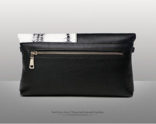 TaoMi Homw- Kupplungs-weibliche faltende Umschläge weibliche Handtaschen-Art- und Weisekurier-Beutel / mit Schultergurt, Handgelenkbügel #a