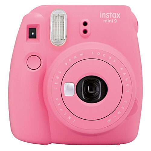 Fujifilm Instax Mini 9 Kamera, flamingo rosa - Digital-film-kamera