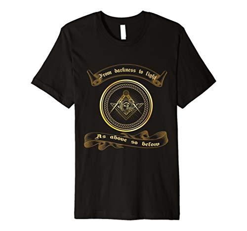 Freimaurer Ritual Kostüm - Freimaurer T-Shirt Freimaurer Symbol Emblem