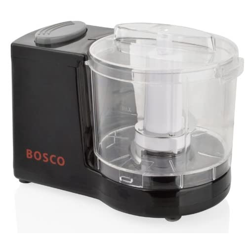 41DHcZQuhRL. SS500  - Black Mini Chopper Blender Grinder Slicer Baby Food Processor 120W-BOSCO