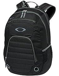 Oakley 5-Speed - Mochila para portátiles y netbooks (Negro, Poliéster, Front pocket, Side pocket, Cremallera)