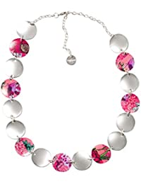 Desigual - Collier court - Plaqué argent - Global Traveller - 9 cm - 72G9EJ83047U