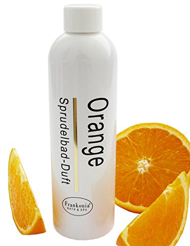 Whirlpool Badezusatz Orange Sprudelbad-Duft, Whirlpoolduft Konzentrat 230 ml
