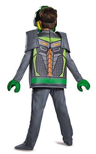 Imagen de lego nexo–disfraz, aaron deluxe disfraz, tamaño mediano, edad 7–8años, altura 4'2