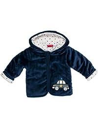 SALT AND PEPPER Baby - Jungen Jacke Nb Jacket Fun Time Plüsch