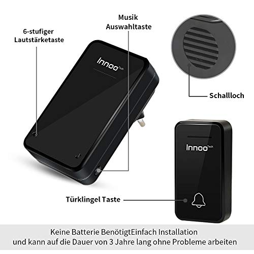 Innoo Tech Funkklingel