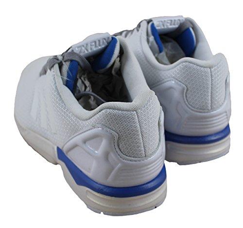 adidas  Zx Flux, Baskets pour homme Ftwr White-Bluebird