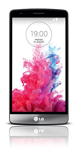 LG G3 s Smartphone (12,7 cm (5 Zoll) HD-IPS-Display, 1,2-GHz Quad-Core Prozessor, 8-Megapixel-Kamera, Android 4.4) titanschwarz