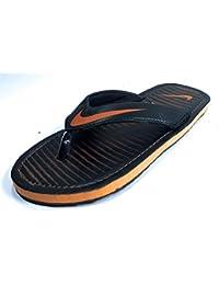 1d1002a29fb Amazon.in  Orange - Flip-Flops   Slippers   Men s Shoes  Shoes ...