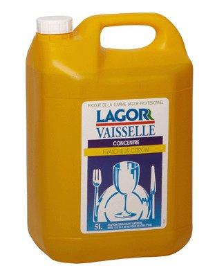 Preisvergleich Produktbild Geschirrspülmittel Lemon-Kanister 5L [Bürobedarf]