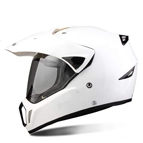 O-Mirechros Full Face del Casco del Motociclo di Motocross degli Uomini di Adventure Downhill DH Corsa Casco Moto Casco ECE 1 S