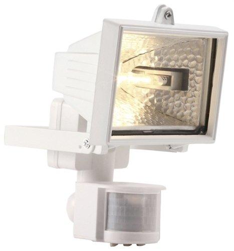 Powermaster 120W Floodlight with PIR White