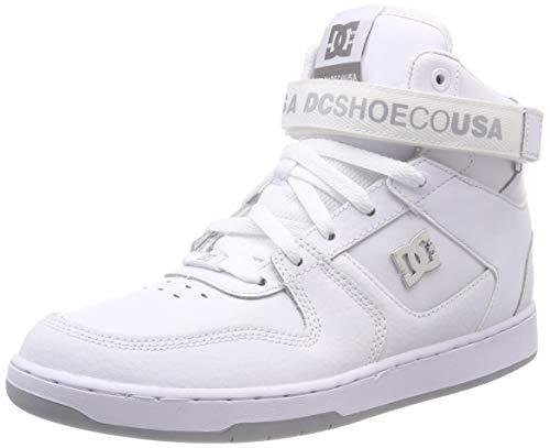 DC Shoes Herren PENSFORD Skateboardschuhe, Weiß (White Wht), 42 EU (Dc Mens Fashion Sneaker)
