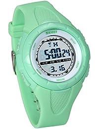 8841f7a3b33b JewelryWe Relojes para Niños Niñas Reloj Deportivo Digital para Aire Libre