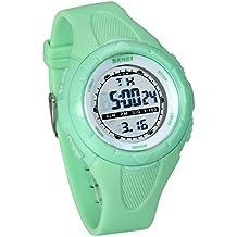 JewelryWe Relojes para Niños Niñas Reloj Deportivo Digital para Aire Libre, Reloj Infantil De Colores