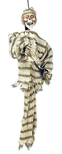 gener Animiert Deko 90 cm - Grusel Horror Dekoration Knasti für Halloween Mottoparty (Halloweeen Dekorationen)