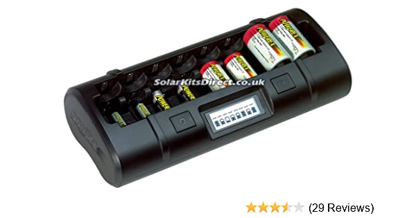 Maha MH-C808M Intelligent Fast Battery Charger for AA AAA CD Sizes on