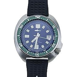 Sharkey Japón Tuna Diver 6105-8110 Bisel Verde