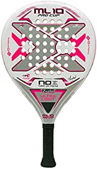 Nox ML Pro Cup Ultralight Silver Palas, Mujer, Blanco, 375
