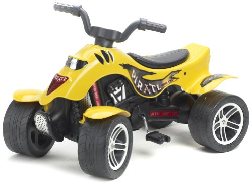 Falk - 602 - giochi all'aperto - Quad Pirate - Giallo