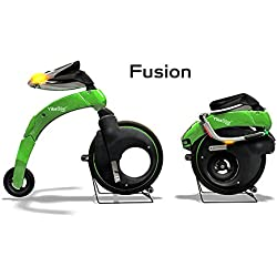 Bicicleta sin pedales eléctrica adulto yikebike Fusion