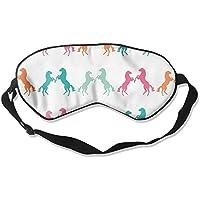 Sleep Eye Mask Horse Colorful Lightweight Soft Blindfold Adjustable Head Strap Eyeshade Travel Eyepatch preisvergleich bei billige-tabletten.eu