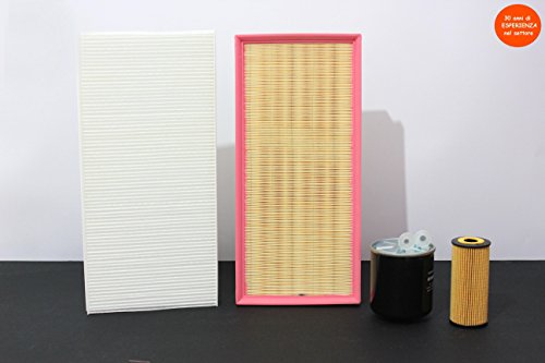 Kit Filtri Tagliando MERCEDES CLASSE B (W245)