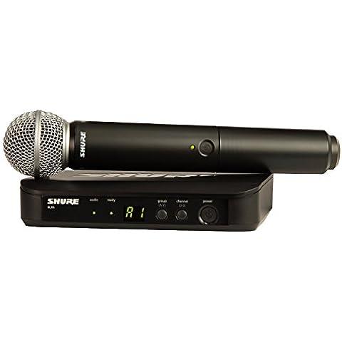 Shure - Blx24 sm58 microfono inalambrico de mano blx-24sm58
