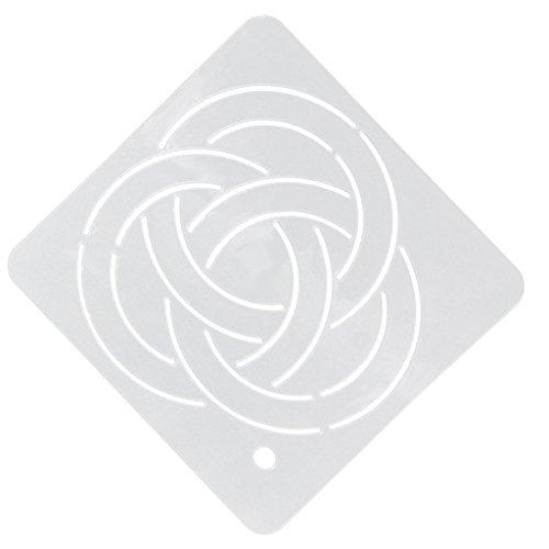Semi transparente Schablonen Vorlage Patchwork Stickerei Acryl Quilt Basteln - muster5, one size (Malerei Stoff Quilten)