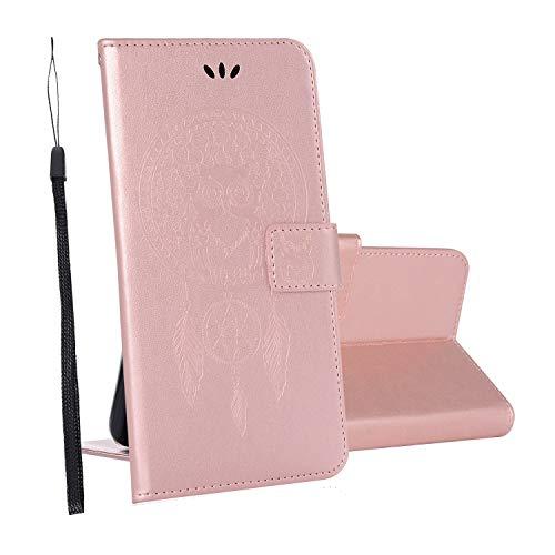 yueer für OnePlus 5T Hülle Schutzhülle,mit [TPU Bumper] [Wallet Stand] für OnePlus 5T Handyhülle