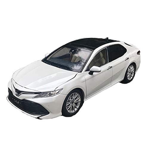 Color : White Maisto 1:18 GAC Toyota Nueva Octava Generaci/ón Camry Toyota Camry Aleaci/ón de Coche Deportivo Modelo de Coche Modelo de Coche Colecci/ón Regalo Modelos Escala Veh/ículos